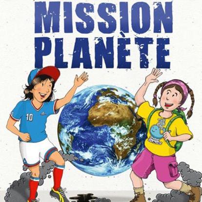 affiche mission planete