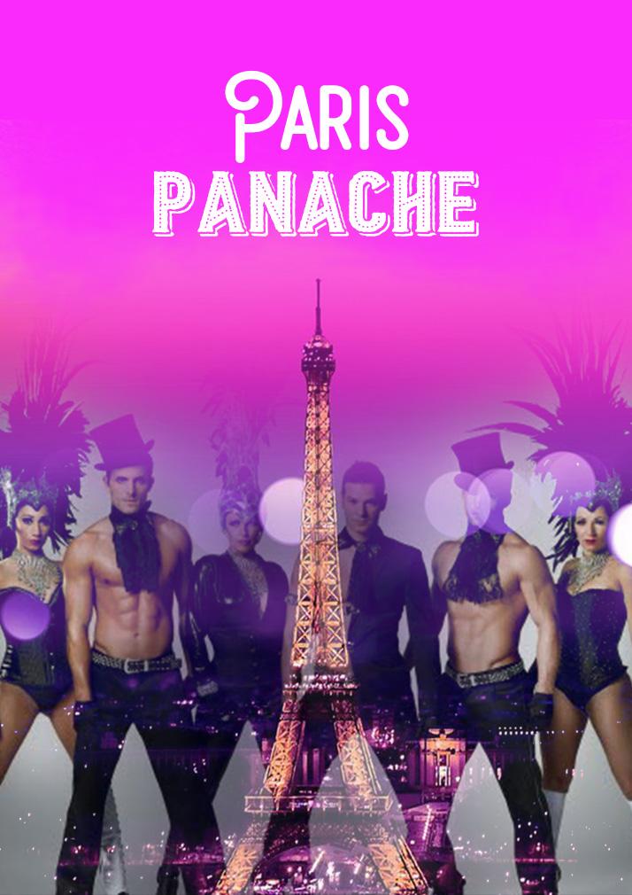 affiche cabaret Paris Panache
