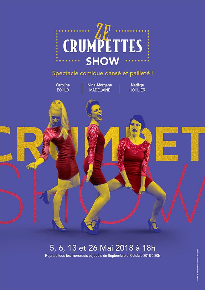 affiche du spectacle Ze Crumpettes Show