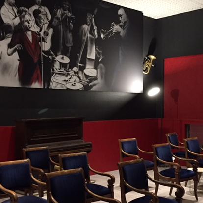 image de la salle de la Lucarne