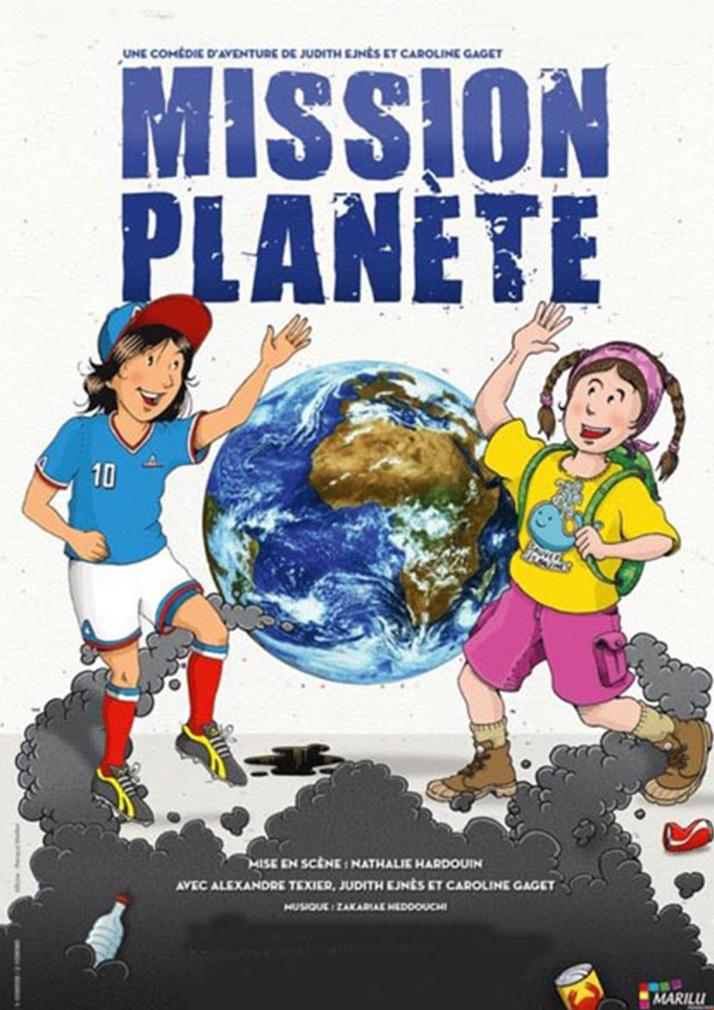 affiche mission planete spectacle jeunes publics