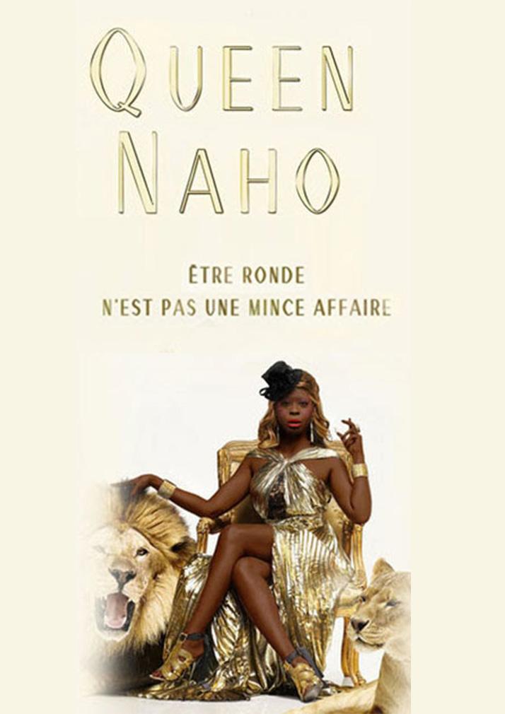 affiche du spectacle de Queen Naho