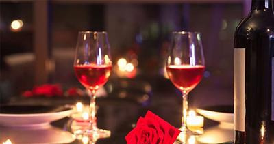 image de la soirée de la saint valentin
